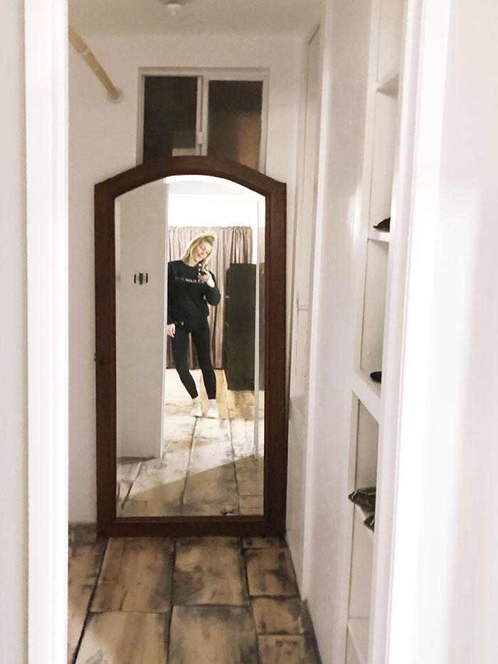 new closet vintage floor mirror