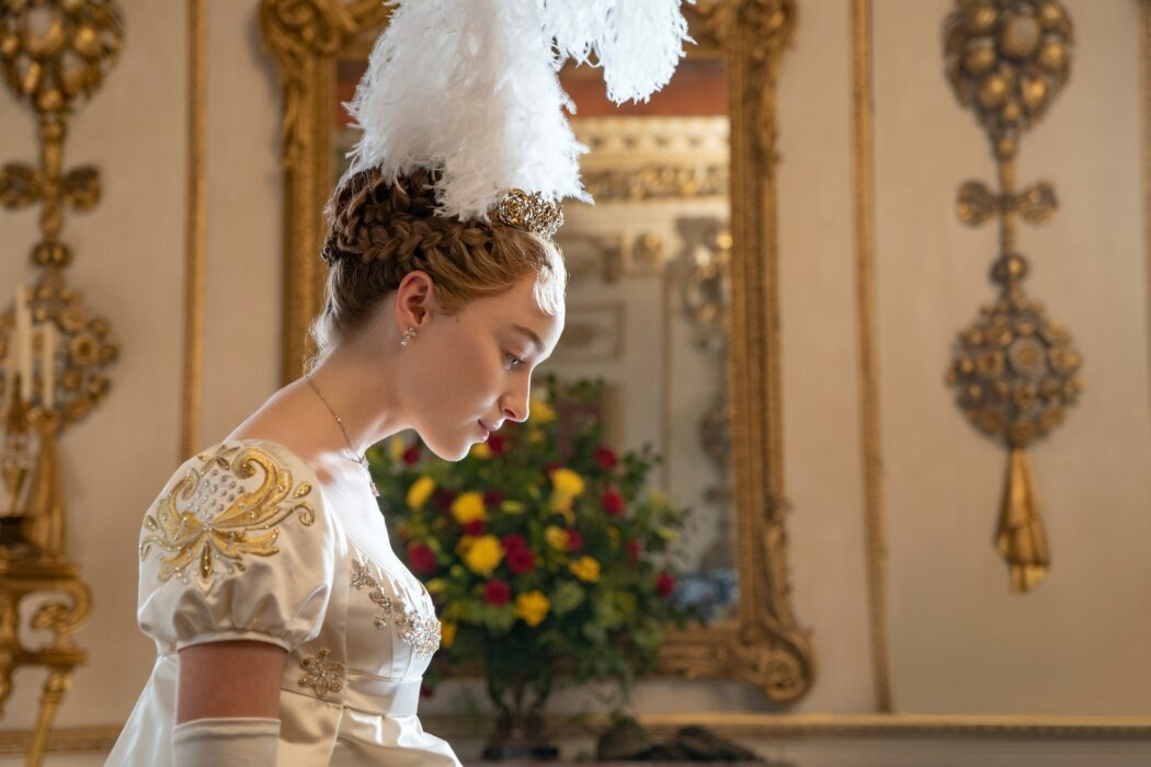 bridgerton costumes and empire waist dresses