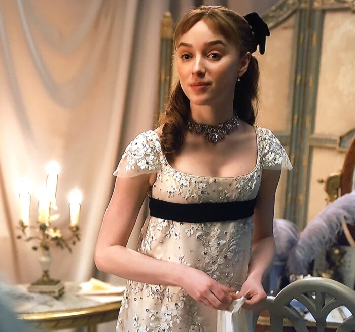empire waist dresses, bridgerton costumes