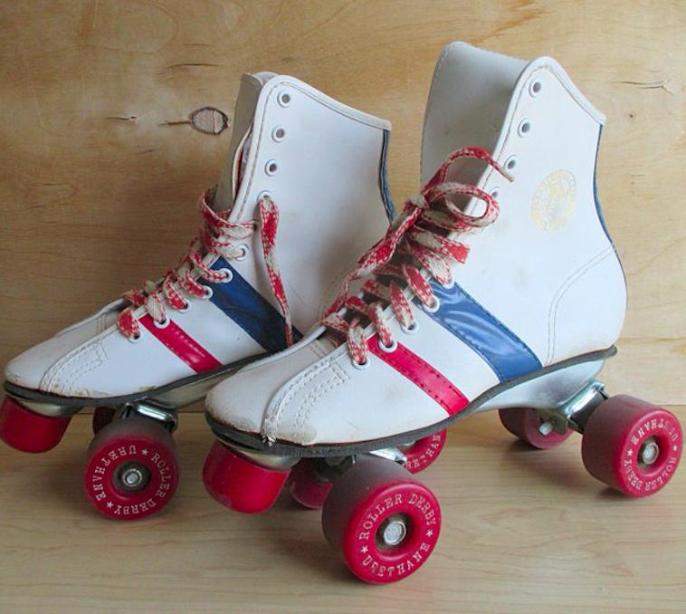 vintage 80s roller skates for kids