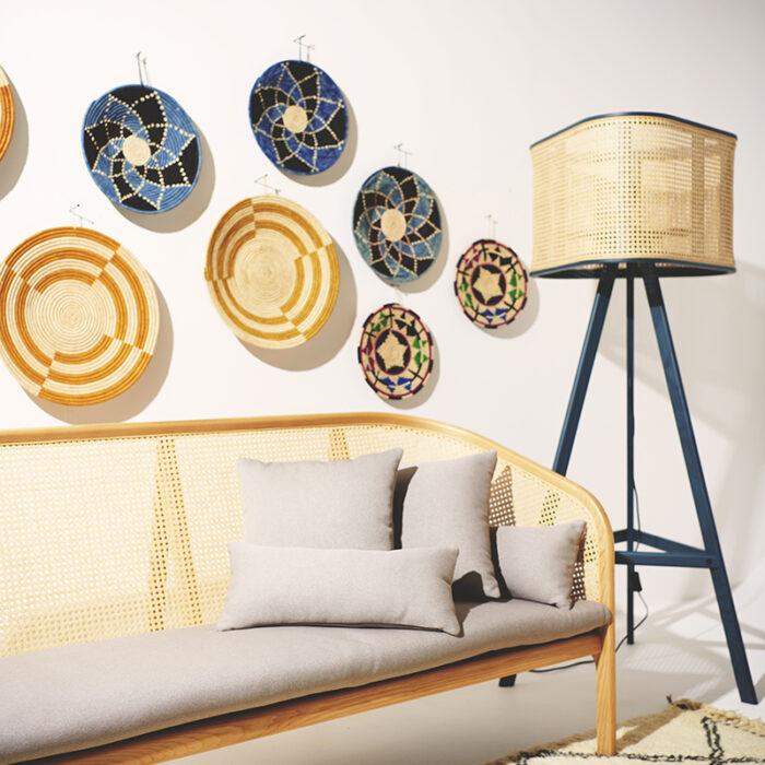 cane furniture trend