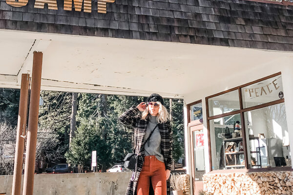 winter style-basecamp general store-lake arrowhead-sky forest