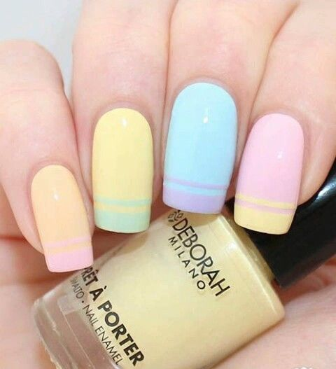 pastel nail art designs 2021