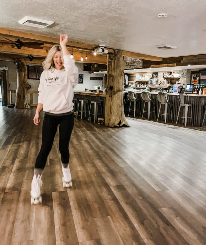 roller skating at dogwood tavern lake arrowhead