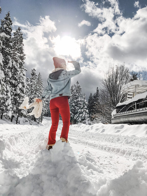 winter skies-snow in lake arrowhead-outfits in the snow-love maegan tintari
