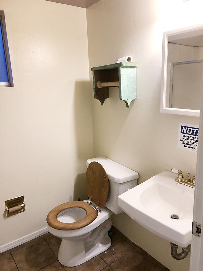 old small bathroom makeover, home decor, renovation, budget bathroom makeover