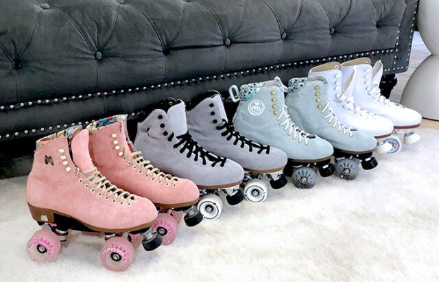 pastel roller skates-pink moxi lolly skates-best roller skates