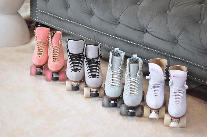 pretty pastel roller skates, best roller skates, roller skate review, moxi skates, moonlight rollers, btfl skates, chicago skates, best skates to buy, what skates to buy as a beginner