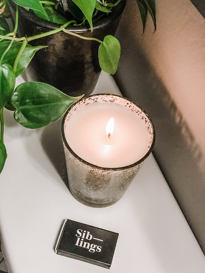siblings DIY candle set  and how to make your own candle