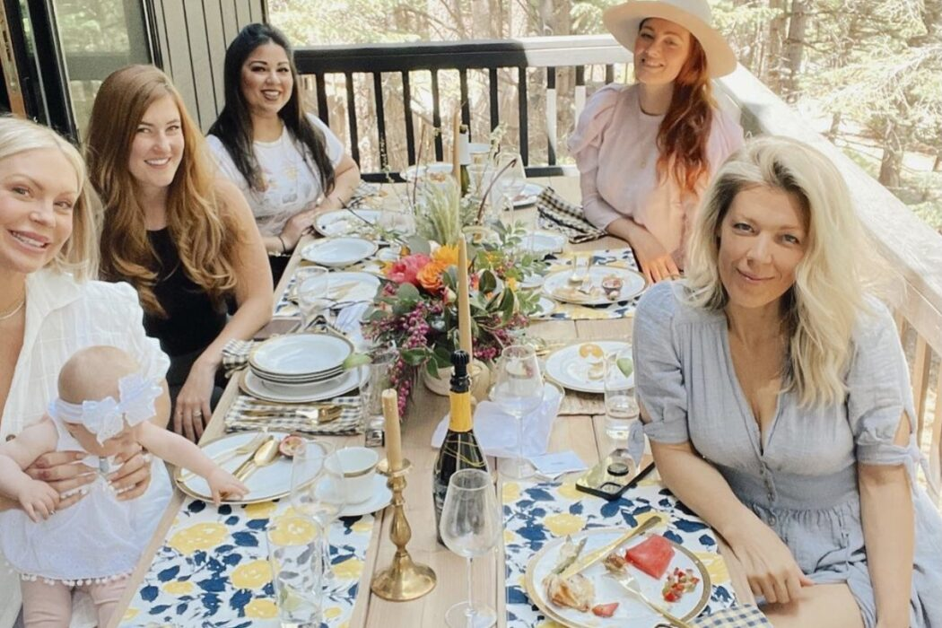 spring brunch in lake arrowhead at the modern lodge