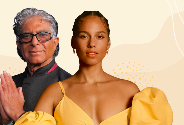 21 day Meditation Journey with Deepak & Alicia Keys
