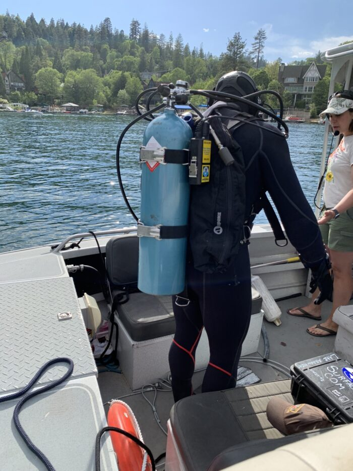 Lake Arrowhead Diver, dropped or lost something in the lake, diver to recover lost items in lake arrowhead