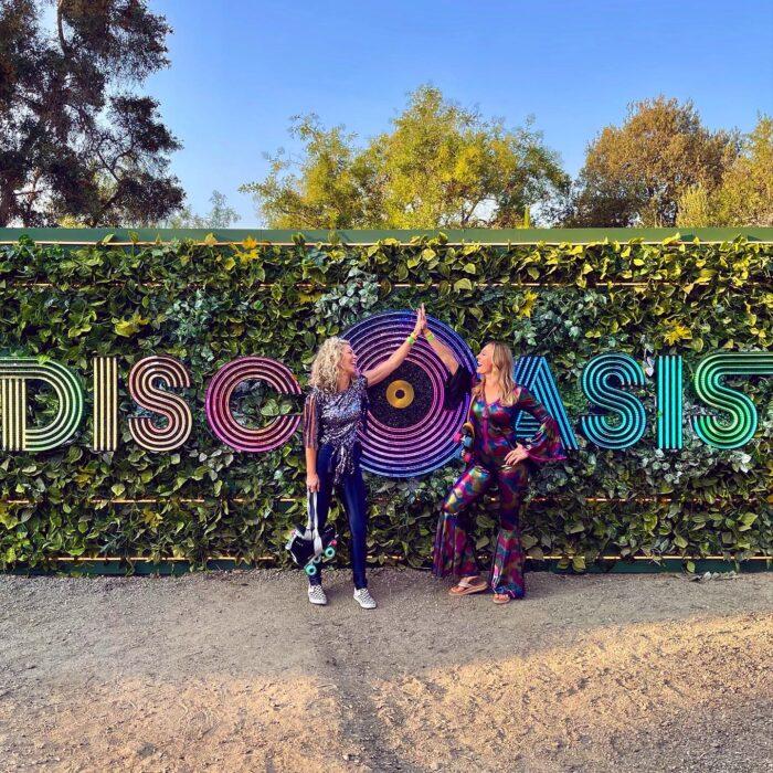 discoasis at the botanical gardens summer 2021, roller disco, roller skating, disco night, 70s roller disco, roller skates, roller girls, disco oasis