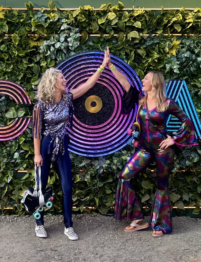 discoasis, disco oasis, roller rink, botanical gardens roller rink, disco night, 70s disco fashion, disco outfits, roller disco,