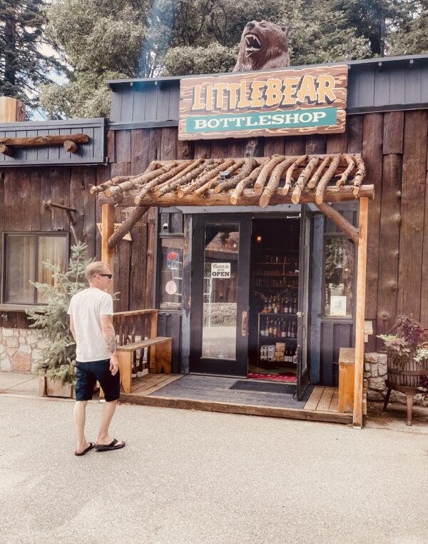 shoppping in lake arrowhead, little bear botle shop, liquor, booze, bottles, drinks, cocktails, bars, lake arrowhead,