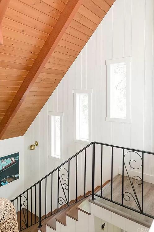 open stairwell mountain house