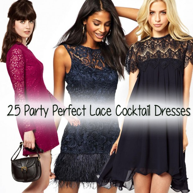 25 party perfect lace cocktail dresses main