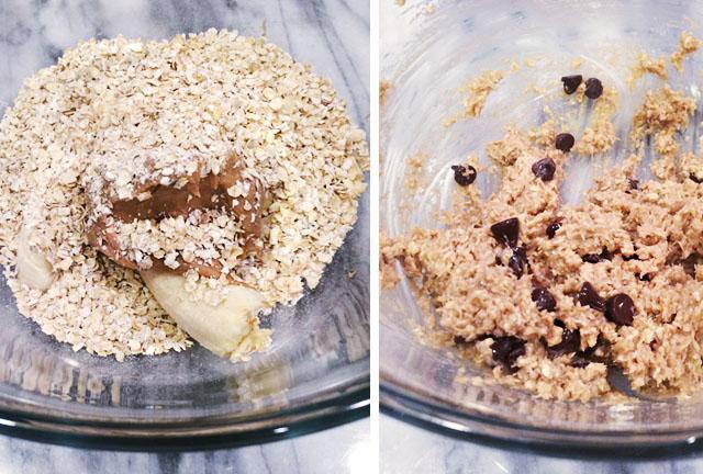 3 ingredient cookies-banana peanut butter oatmeal recipe 3