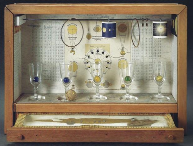 4 Joseph Cornell, Untitled (Solar Set), c. 1956-58