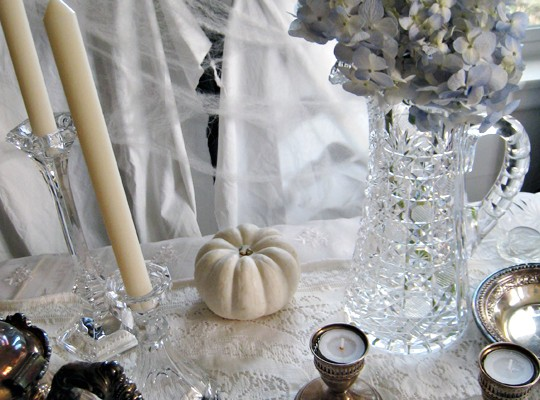 haunted mansion tabletop decor for halloween