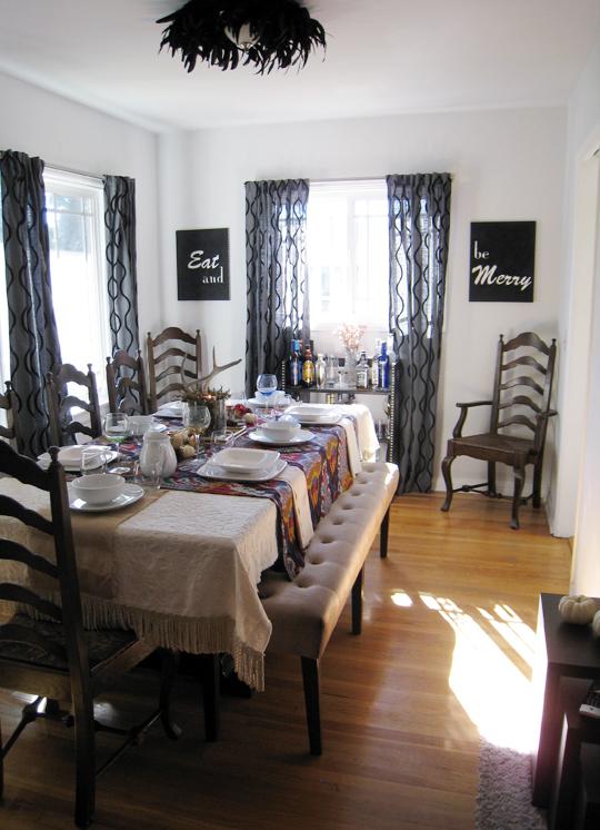 thanksgiving tabletop decor