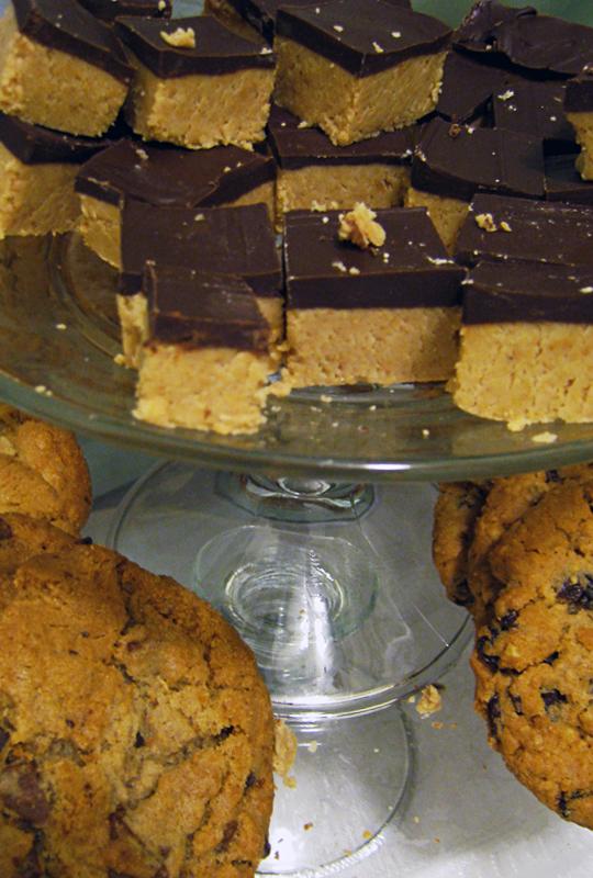 peanut butter squares dessert recipe