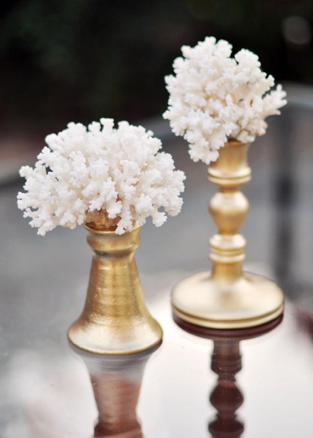 DIY Coral Decor Accent Art Sculptures