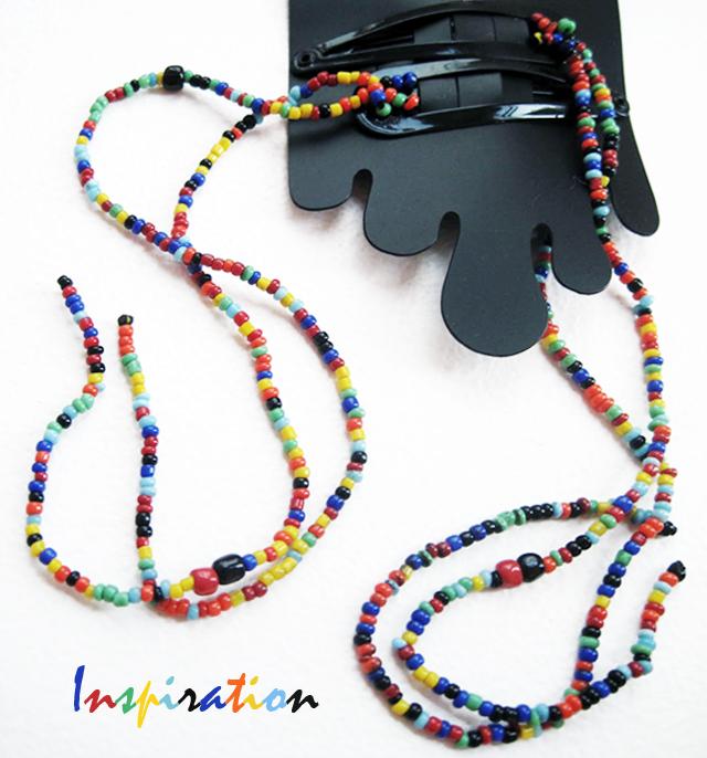 DIY Hanging Bead Hair Clips