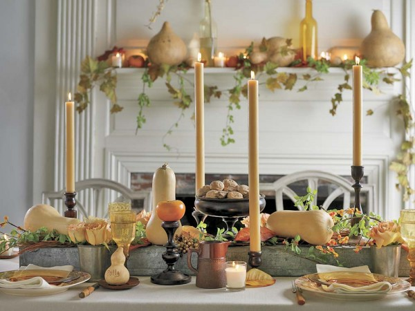 Classic Thanksgiving Decor