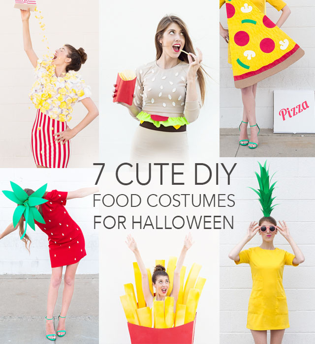 7 Cute DIY Food Costumes for Halloween