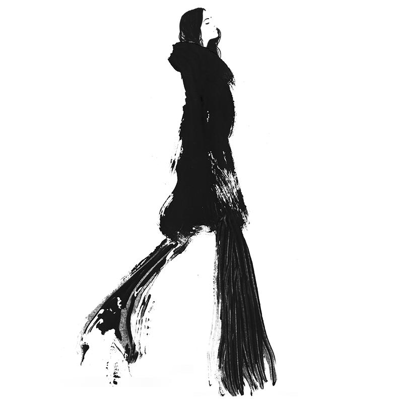 Judith van den hoek art - fashion illustrations