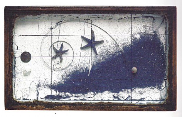 9 Joseph Cornell, Untitled (Blue Sand Tray with Starfish), c. 1952 1952