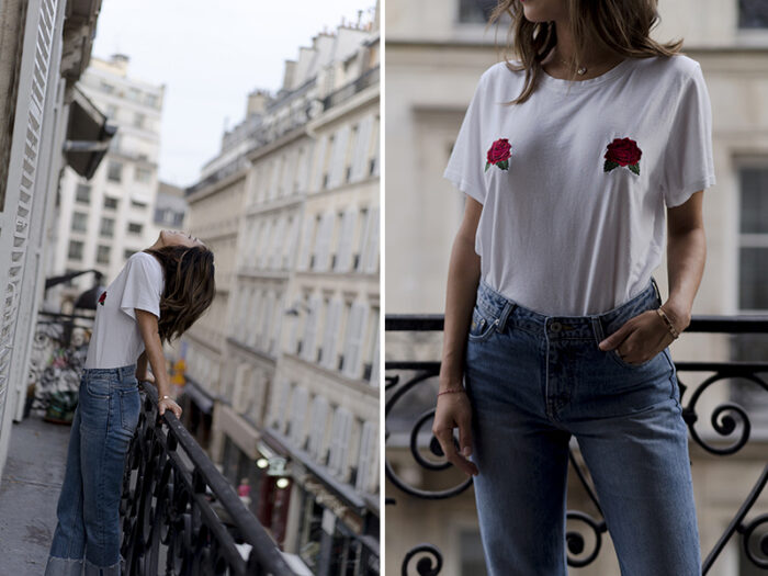 rose tits t-shirt