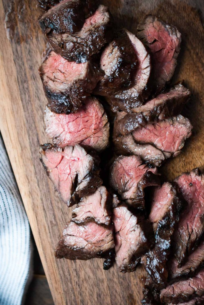 how to cook steak - Balsamic-Grilled-Hanger-Steak