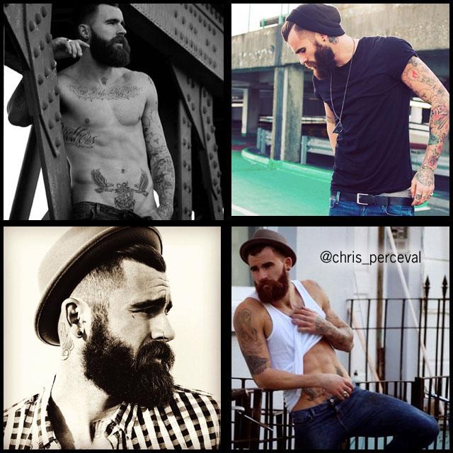 #BeardModel Chris Perceval