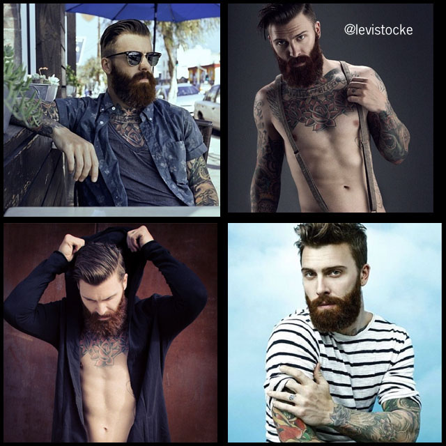 #BeardModel Levi Stocke