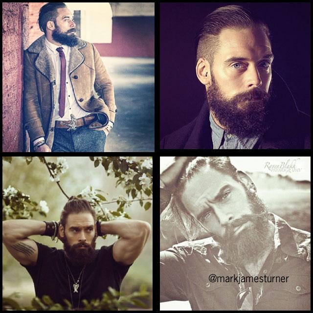 #BeardModel Mark James Turner