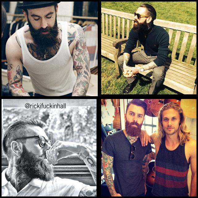 #BeardModel Rick Hall
