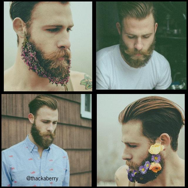 #BeardModel Thakaberry