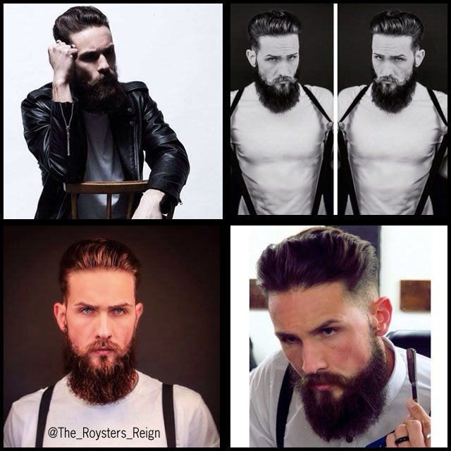 #BeardModel The Roysters Reign