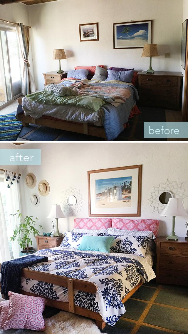 Bedroom makeover BEFORE-AFTER