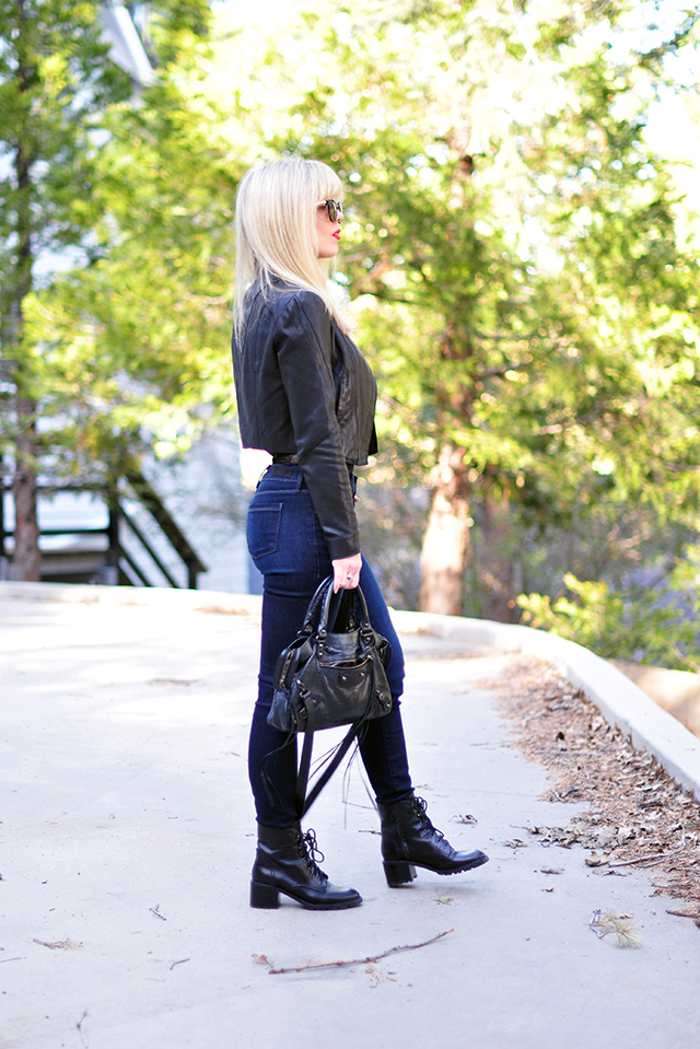 Black and navy_Denim and leather