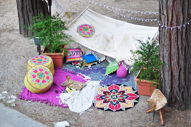 Boho Backyard escape-hammock 4