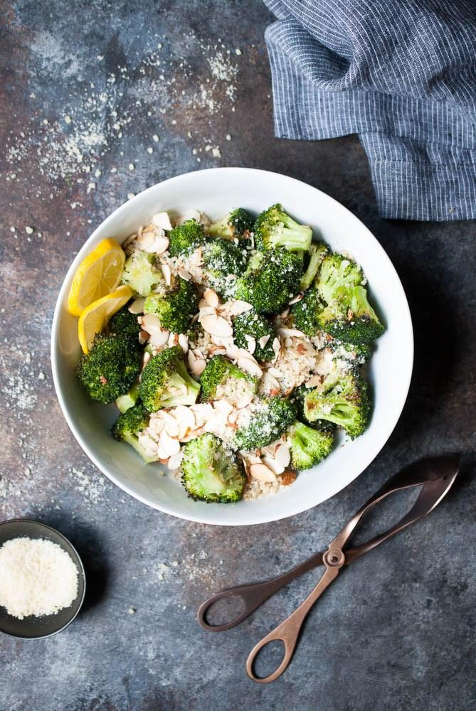 Healthy Lunch ideas -Broccoli-Quinoa-Salad