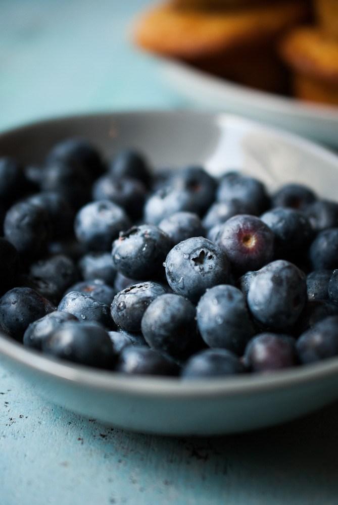 Breakfast Recipe // Buttermilk Blueberry Muffins