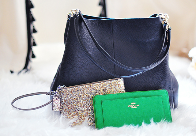 Coach Bags_kelly green wallet_giveaway