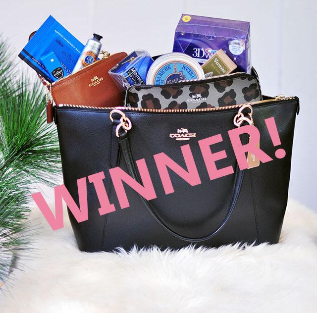 Coach bag giveaway+beauty faves _loveMaegan