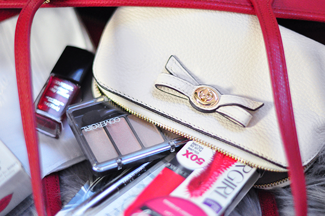Coach makeup pouch + covergirl giveaway