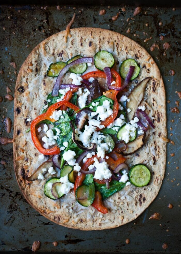 Crispy-Roasted-Veggie-Flatbread-Pizza-4