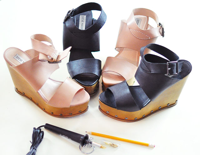 DIY 70s-90s Flower Wedges-1